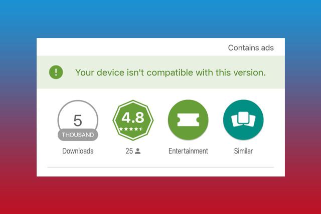 Cara Mengatasi Aplikasi Tidak Compatible