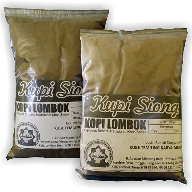 Kopi Khas Lombok