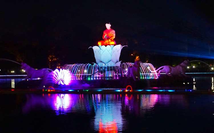 Taman Air Mancur Sri Baduga Situ Buleud Purwakarta