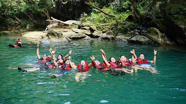 Body Rafting di Sungai Citumang