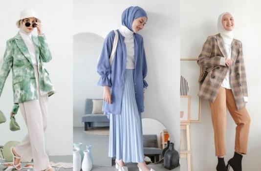 Inspirasi Style Hijab Minimalis